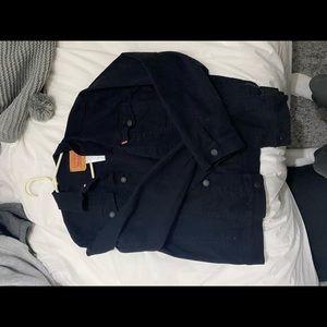 levi jean jacket oversized